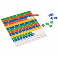 Magnetic fraction set linear pupils