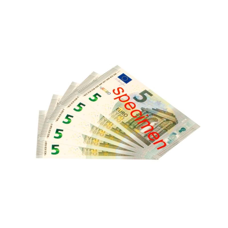 Euro banknotes 5 euro