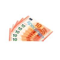Euro banknotes 10 euro