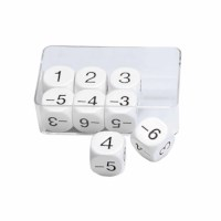 Dice -6 up to 6