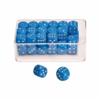 Dot dice blue