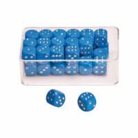 Dot dice blue
