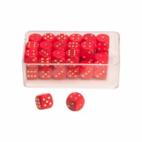 Dot dice red