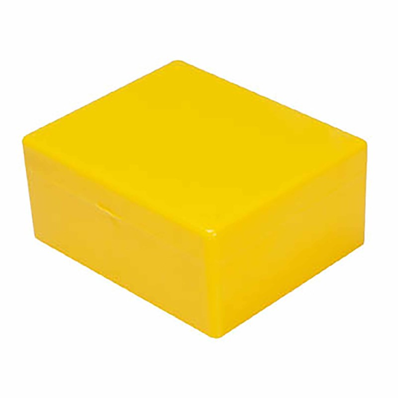 Box yellow 10 x 8.2 x 4.3 cm