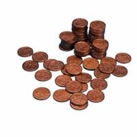 Euro coins 2 euro cent