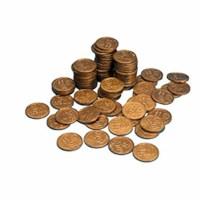 Euro coins 10 euro cent