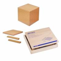 Base 10 magnetic assortment blank