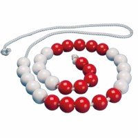 Bead string up to 30 teacher