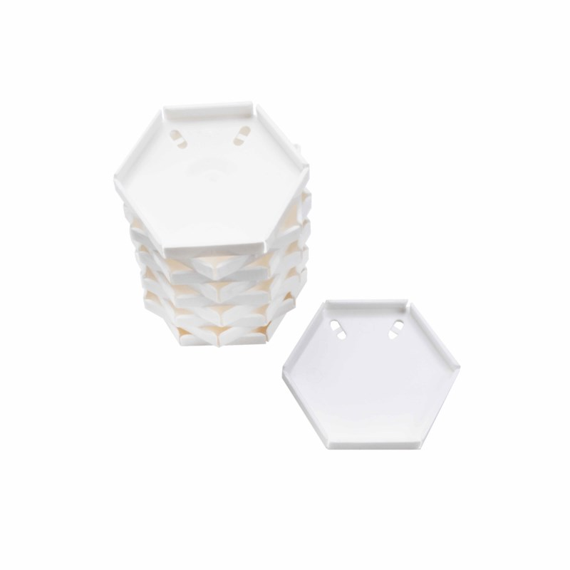 Scope tray small white (10)