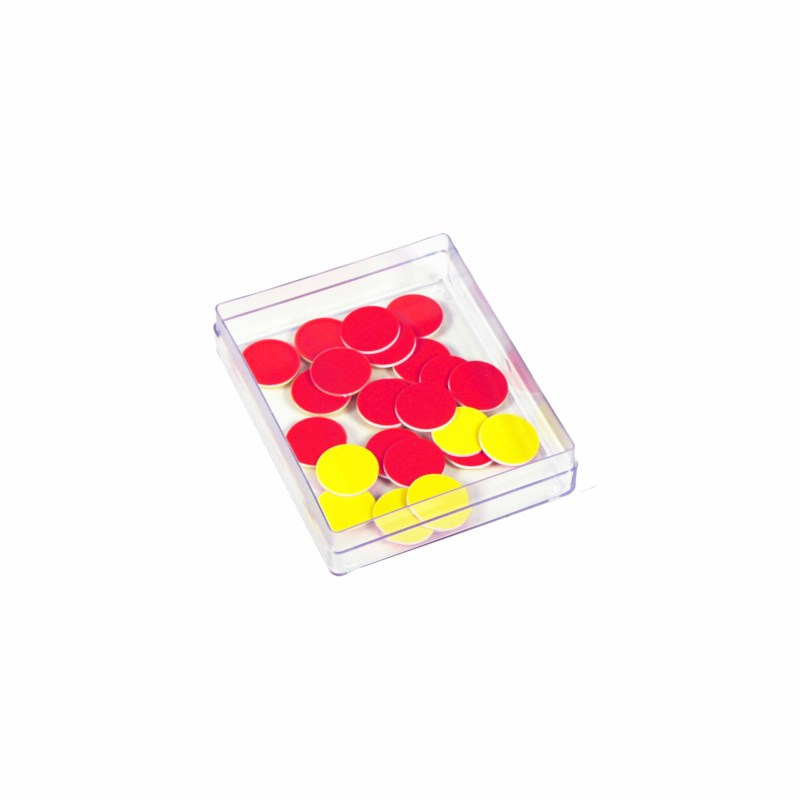 Counters red-yellow