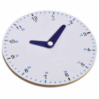 Clock round up to 24 - analogue